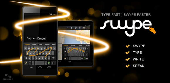 Swype Android Keyboard app