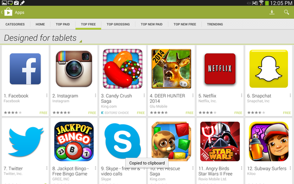 android tablet apps