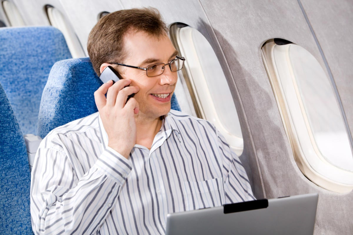 cellphones on airlines