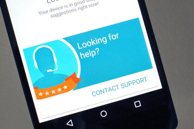 Google is nixing the Device Assist app for Nexus phones