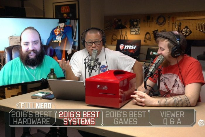 The Full Nerd episode 12: The best PC hardware, laptops, and games of 2016